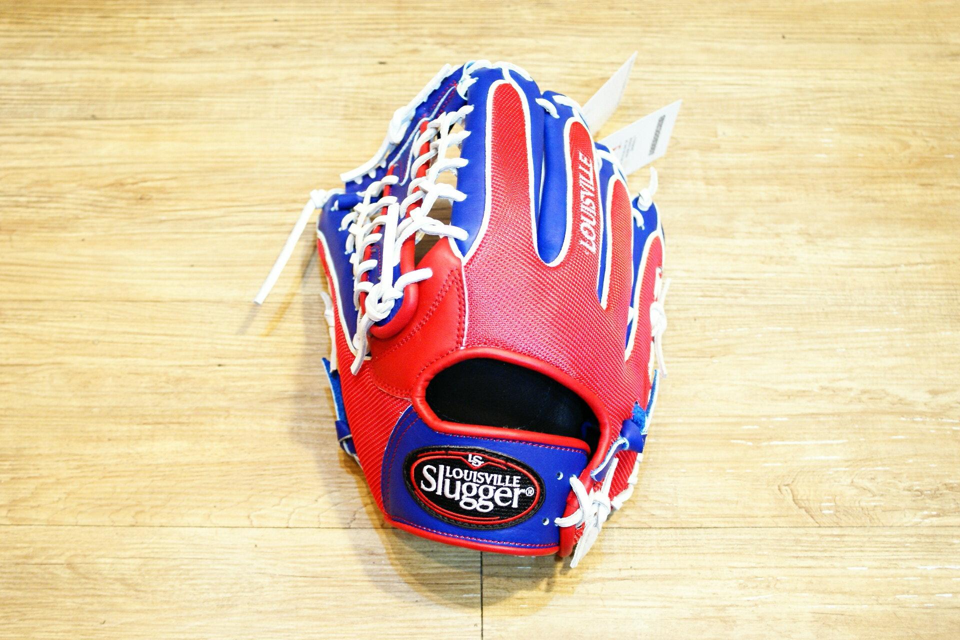 棒球世界 Louisvill Slugger 路易斯威爾TPX LS AIR布織布 外野T網棒壘球手套 特價中華隊配色