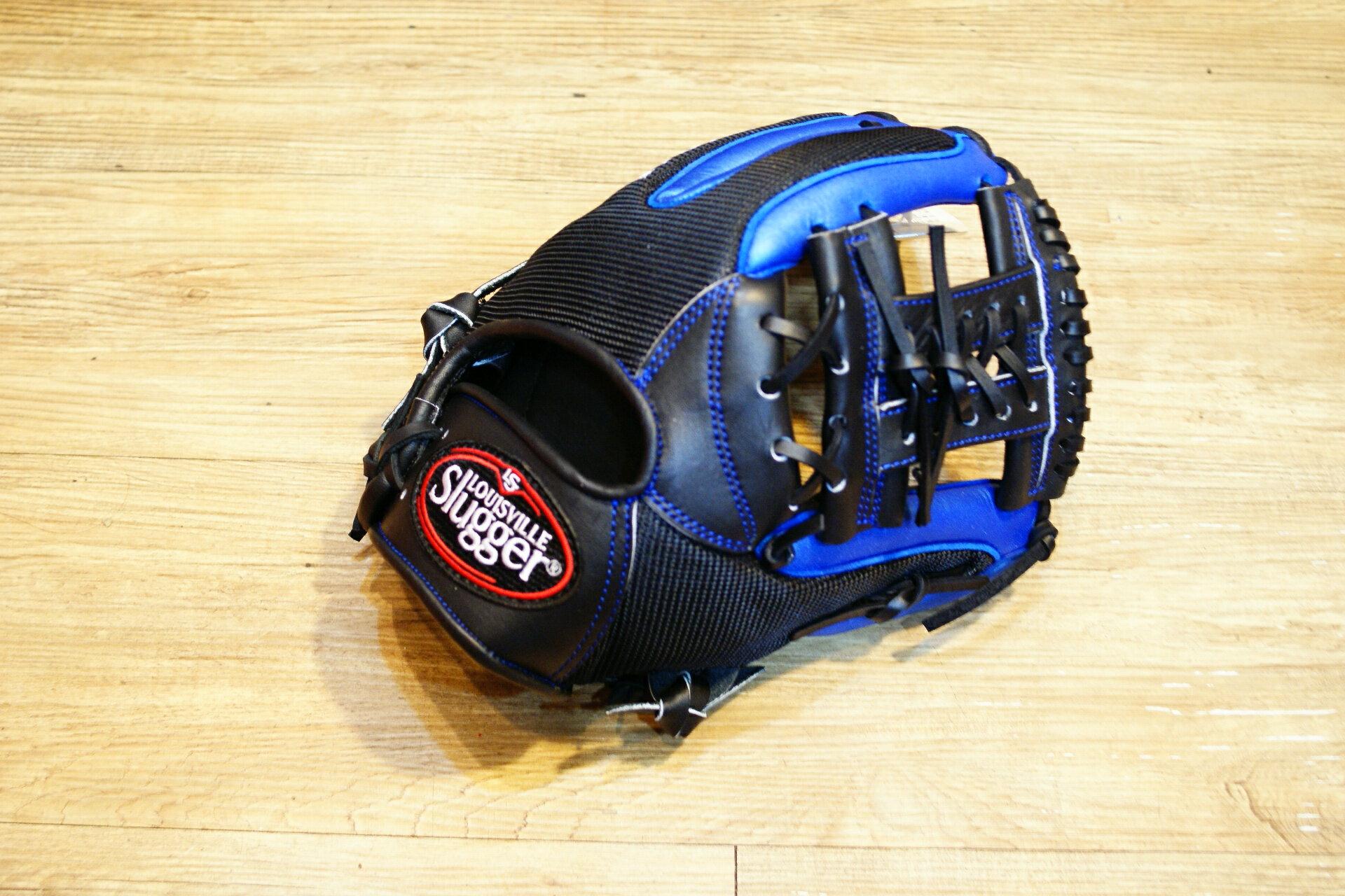 棒球世界 Louisvill Slugger 路易斯威爾TPX LS AIR布織布 內野工字棒壘球手套 特價 炫藍配色