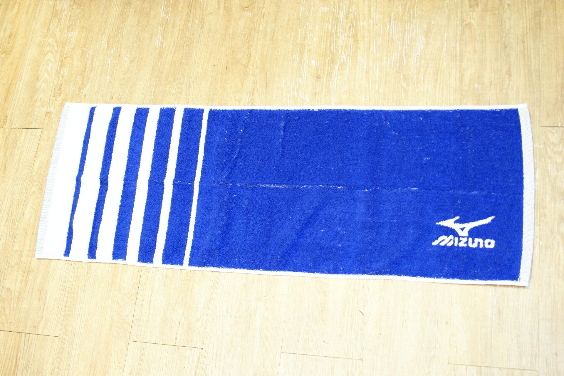 棒球世界 2015年下半季 Mizuno美津濃 運動毛巾 32TY560214 特價 白藍配色款