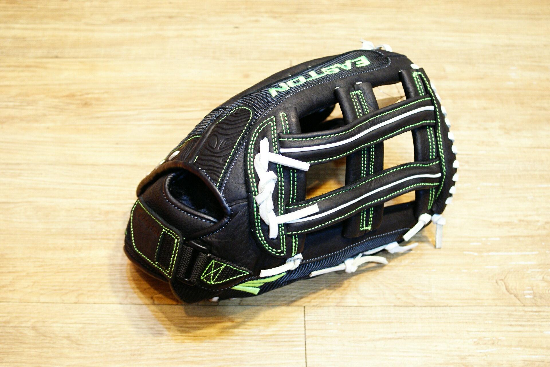 棒球世界 全新16年EASTON 美國進口超大牛皮外野手手套 特價 15吋