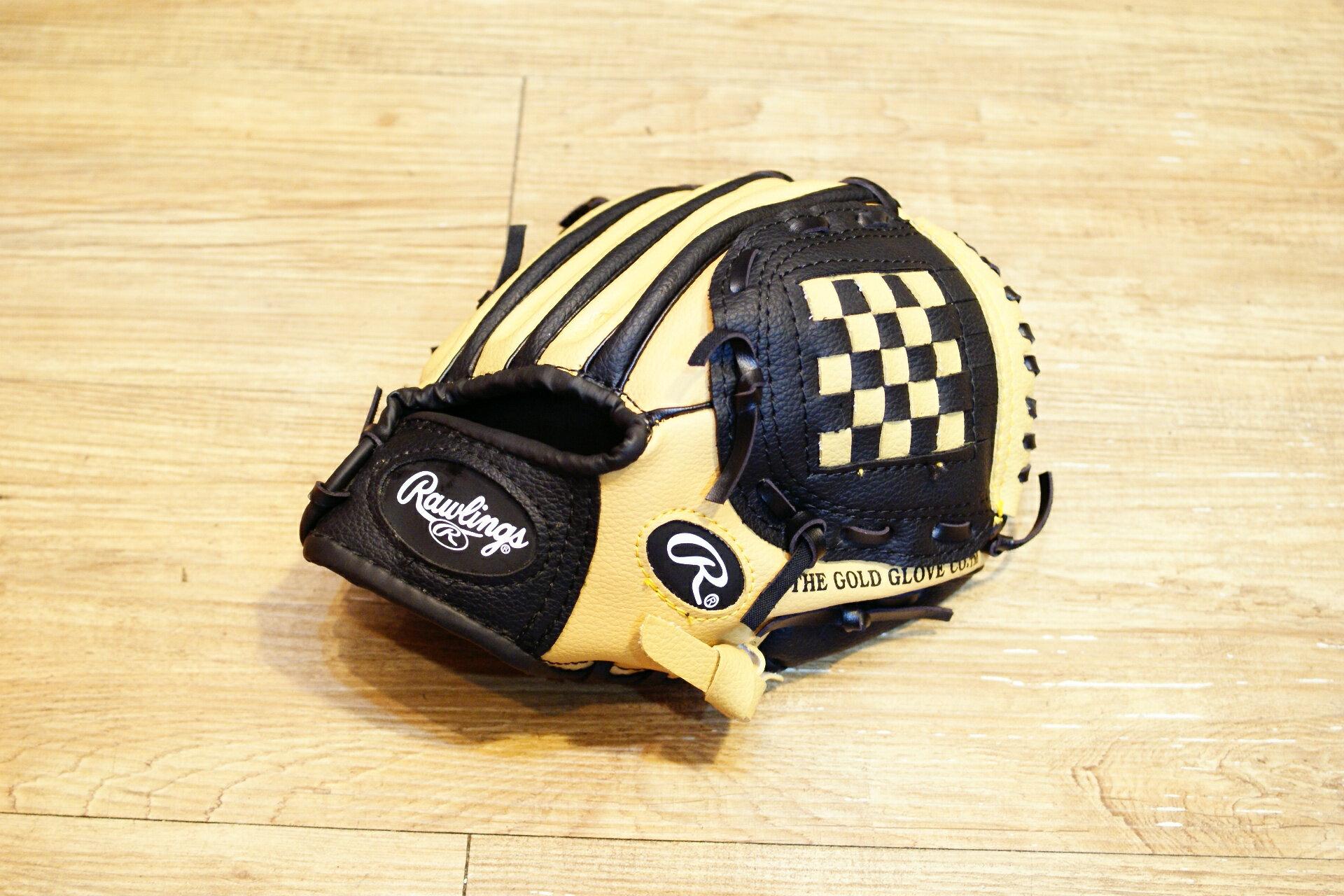 〈棒球世界〉全新Rawlings 國小用手套 特價 新亮販 黑棕配色
