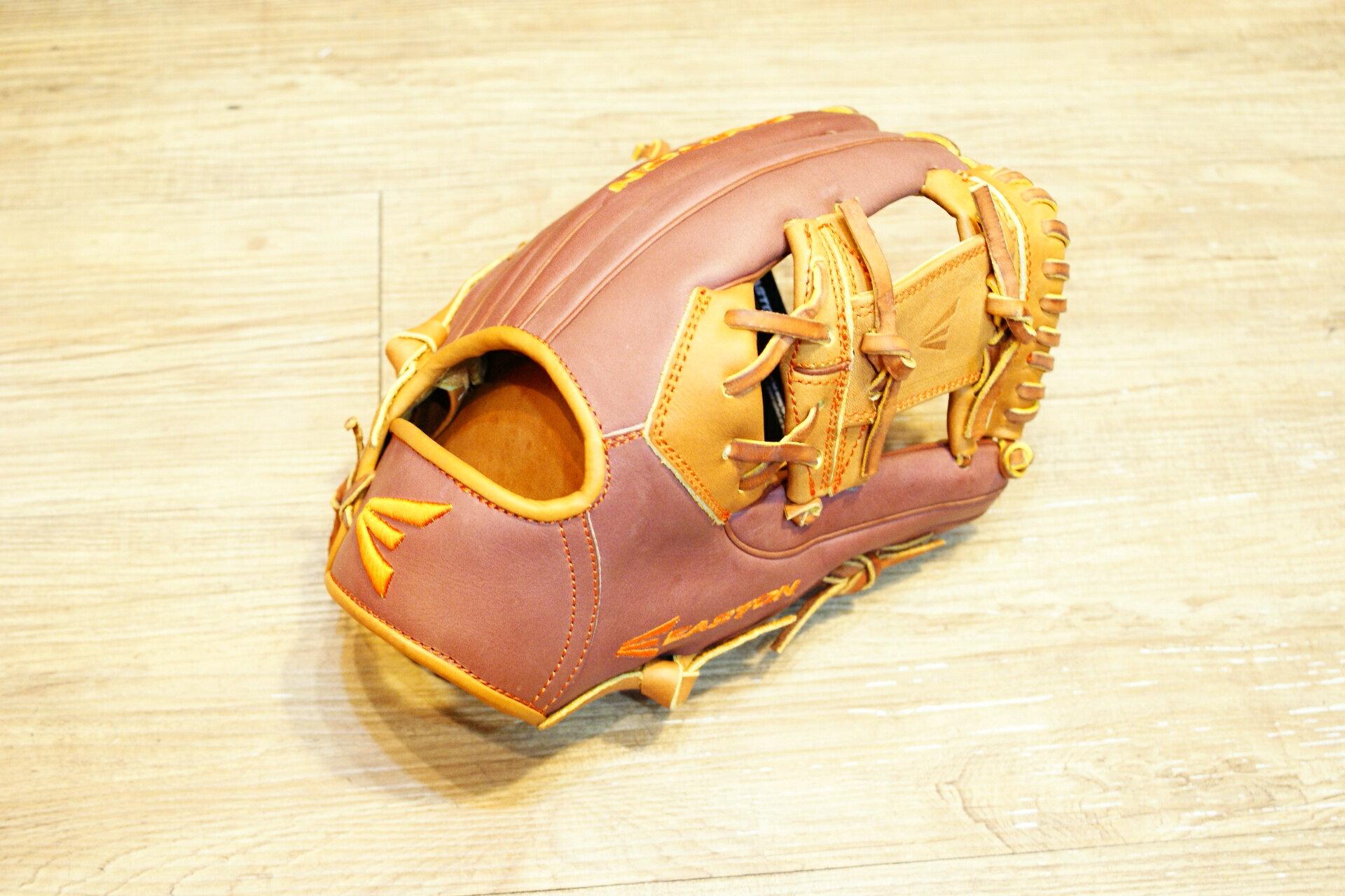 棒球世界原裝進口EASTON美規職業等級小牛皮棒壘手套 特價 內野工字