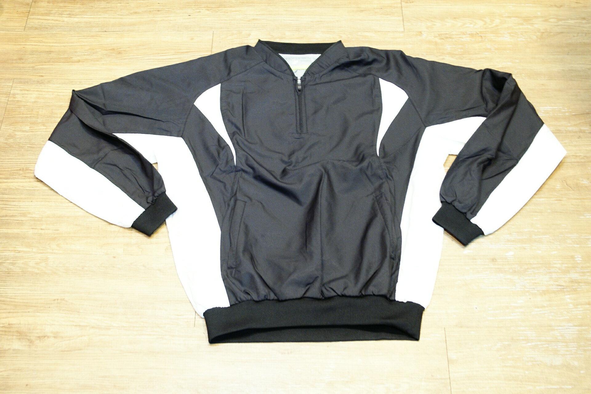 棒球世界全新SSK日本進口高質感長袖風衣 黑色特價