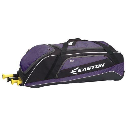 棒球世界 EASTON 新款美式滾輪大型裝備袋(A163070系列) 紫色 特價