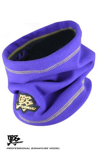 棒球世界 全新 野YAKYU 保暖護頸套 特價 紫色
