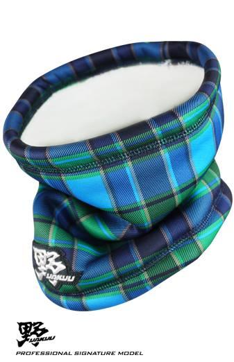 棒球世界 全新 野YAKYU 保暖護頸套 特價 格紋款式