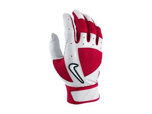 棒球世界 全新NIKE FUSE 打擊手套 紅灰 GB0286-003 特價 尺寸:S、L