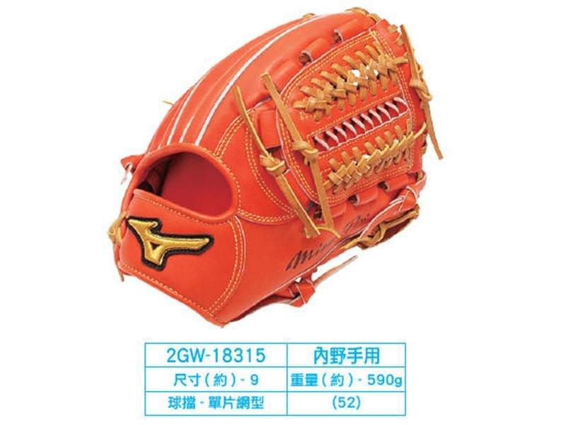 棒球世界 2014年 Mizuno美津濃 MIZUNO PRO 硬式手套 2GW-18301 特價