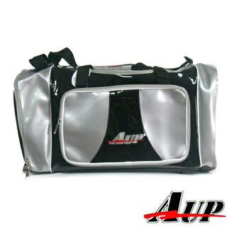 棒球世界 【AUP】新款棒壘球中型裝備袋-黑/銀