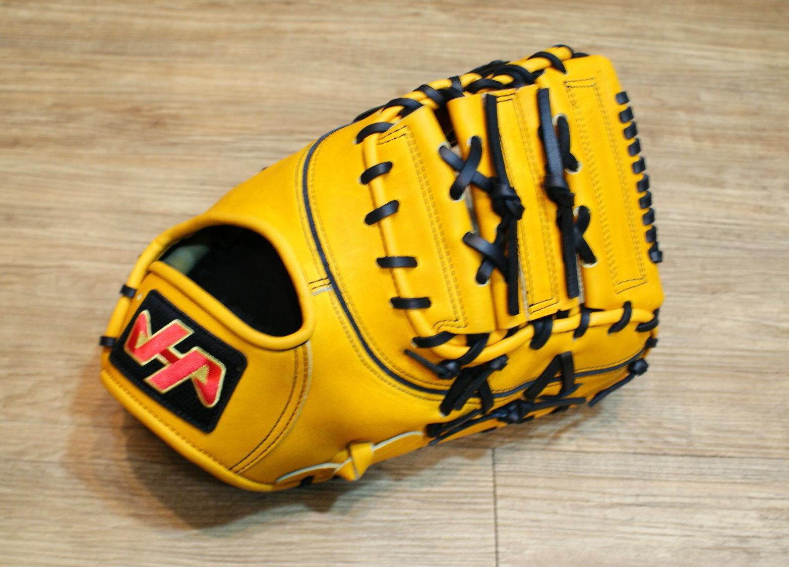 棒球世界 全新 HATAKEYAMA北美牛皮 棒壘球專用一壘手套 特價