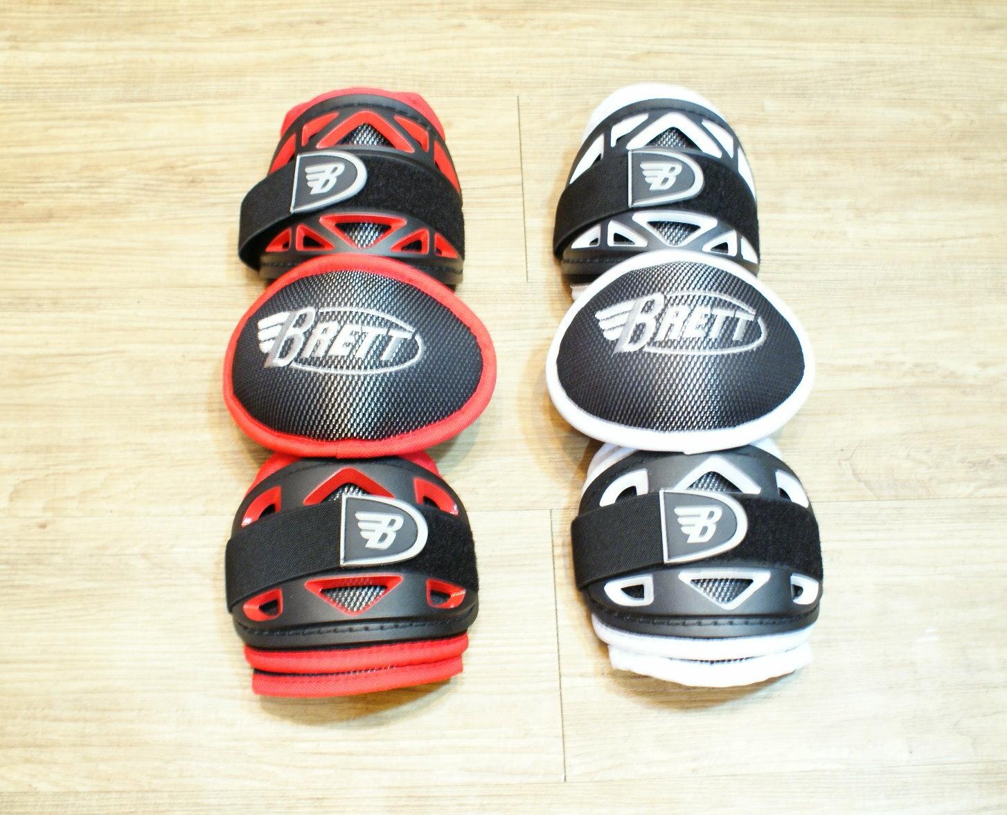 棒球世界 BRETT布瑞特職業用全覆式打擊護肘 特價