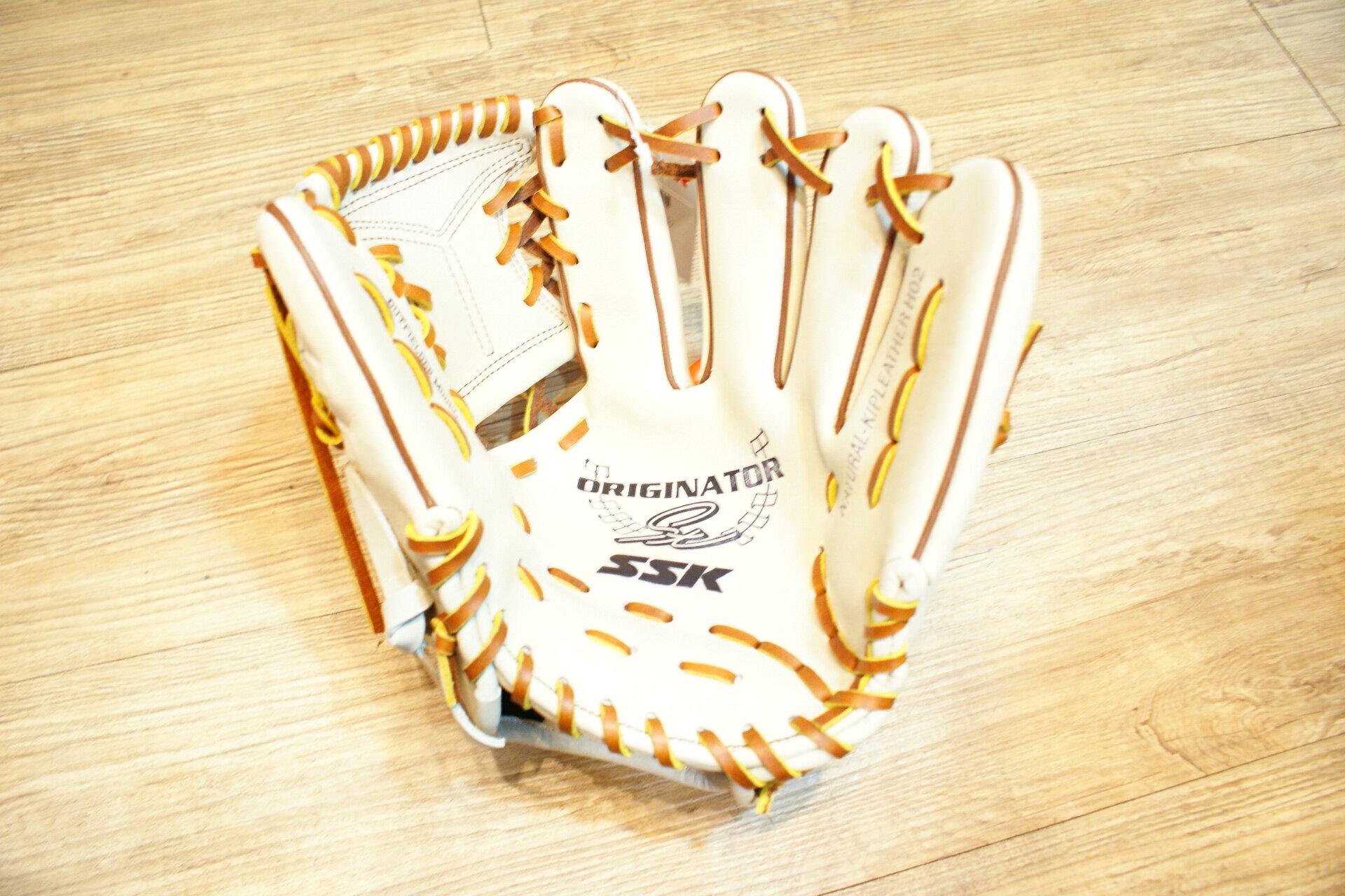 棒球世界 SSK 白金標硬式小牛皮棒壘手套TRG~21  內野手
