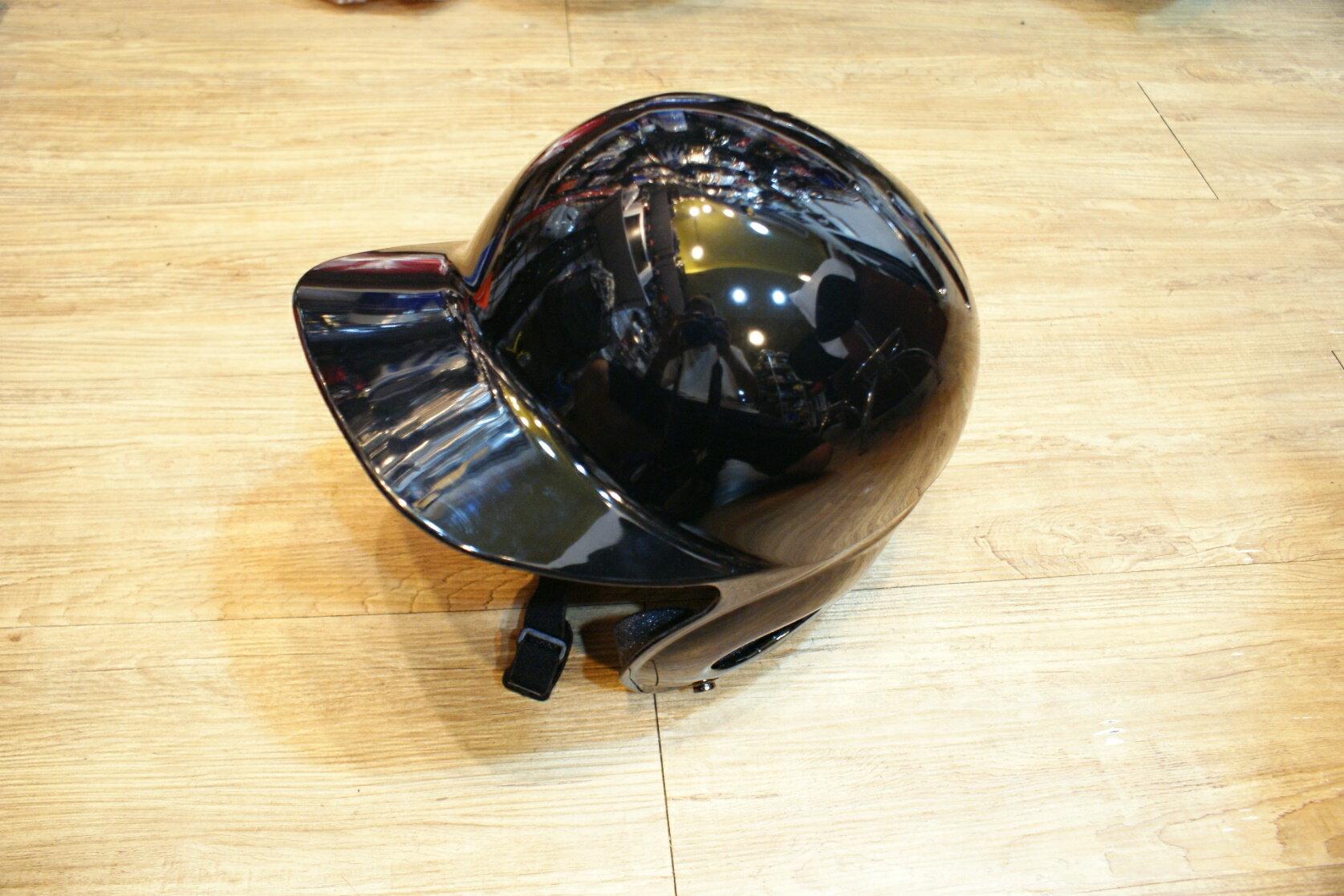 棒球世界全新海鳥出品打擊頭盔 黑色 特價
