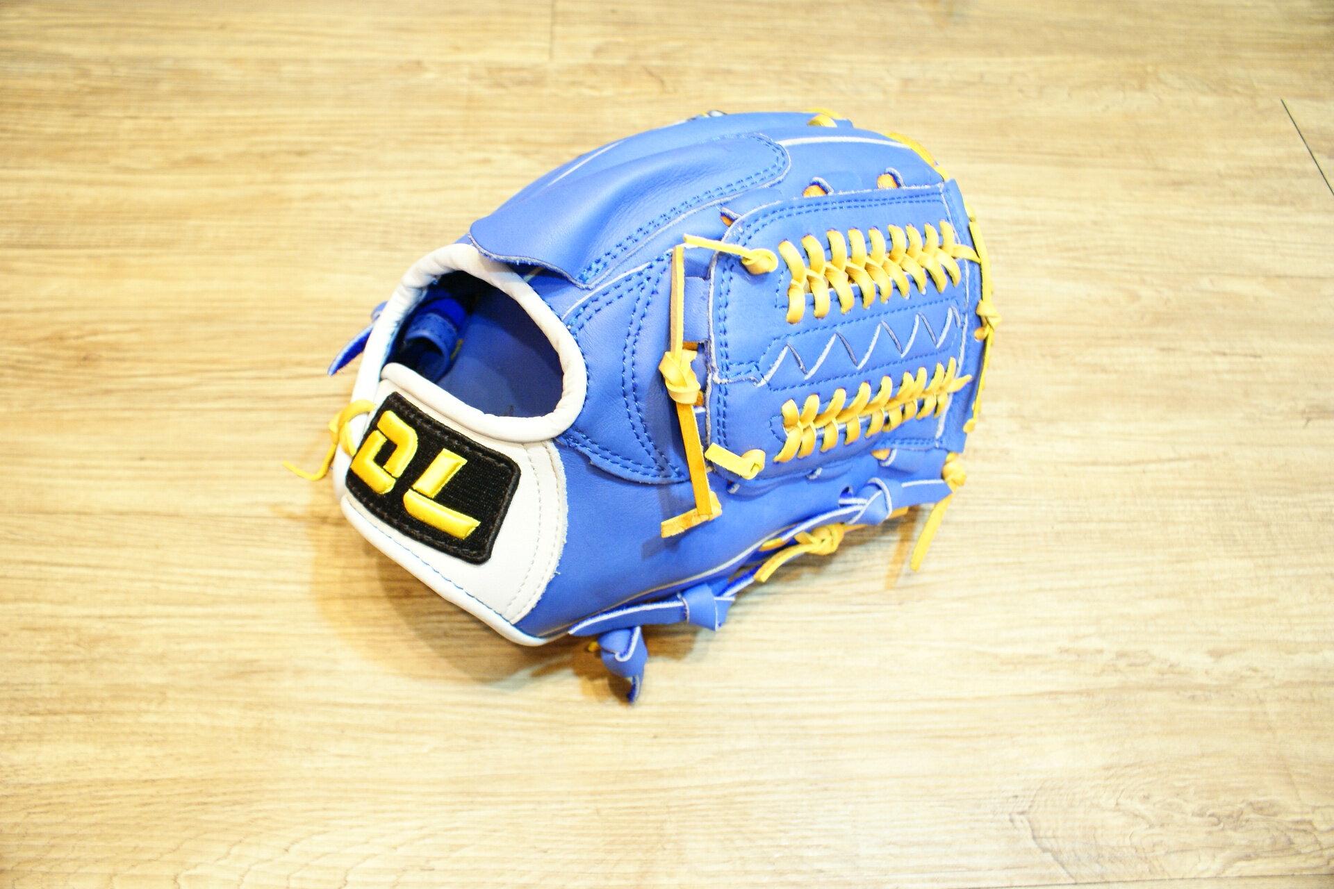 棒球世界 全新DL 職業組棒壘球投手手套 特價