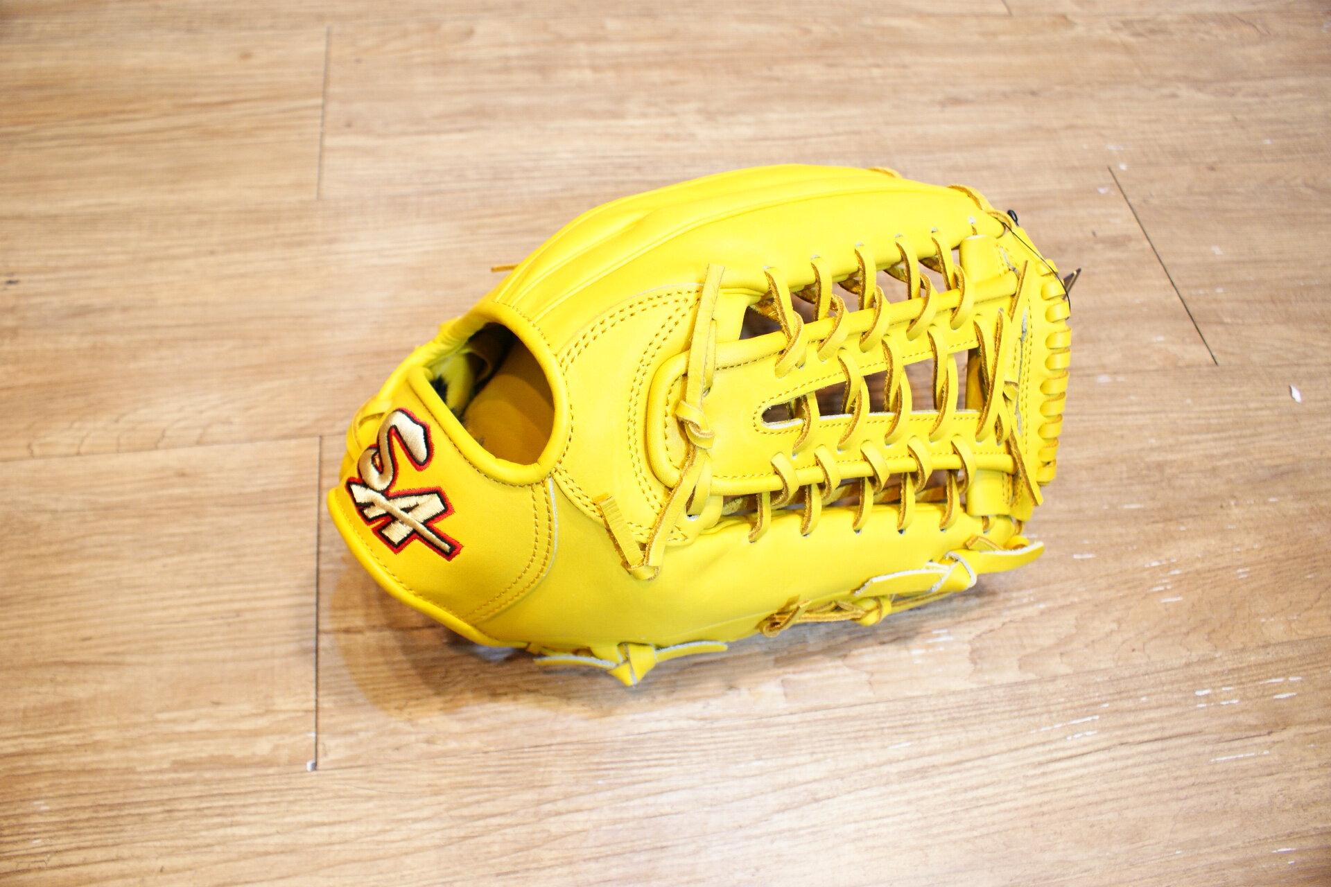 棒球世界 全新SA KIP 硬式小牛皮棒壘球手套 限量 發行 只有一個