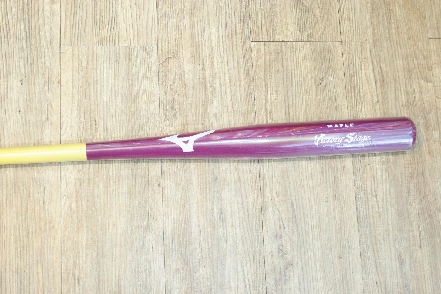 棒球世界 2014 MIZUNO 美津濃 慢速壘球用楓木棒 VICTORY STAGE 特價