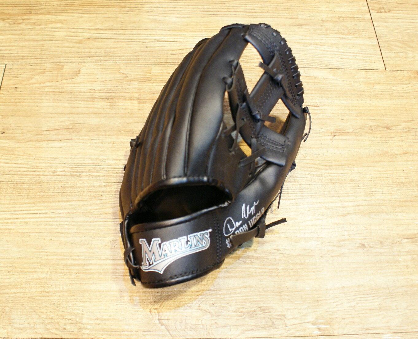 棒球世界 美國大聯盟MLB 佛羅里達馬林魚國小球迷用手套 特價