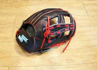 棒球世界SSK TRG55牛皮製棒壘球手套 特價 內野十字球檔