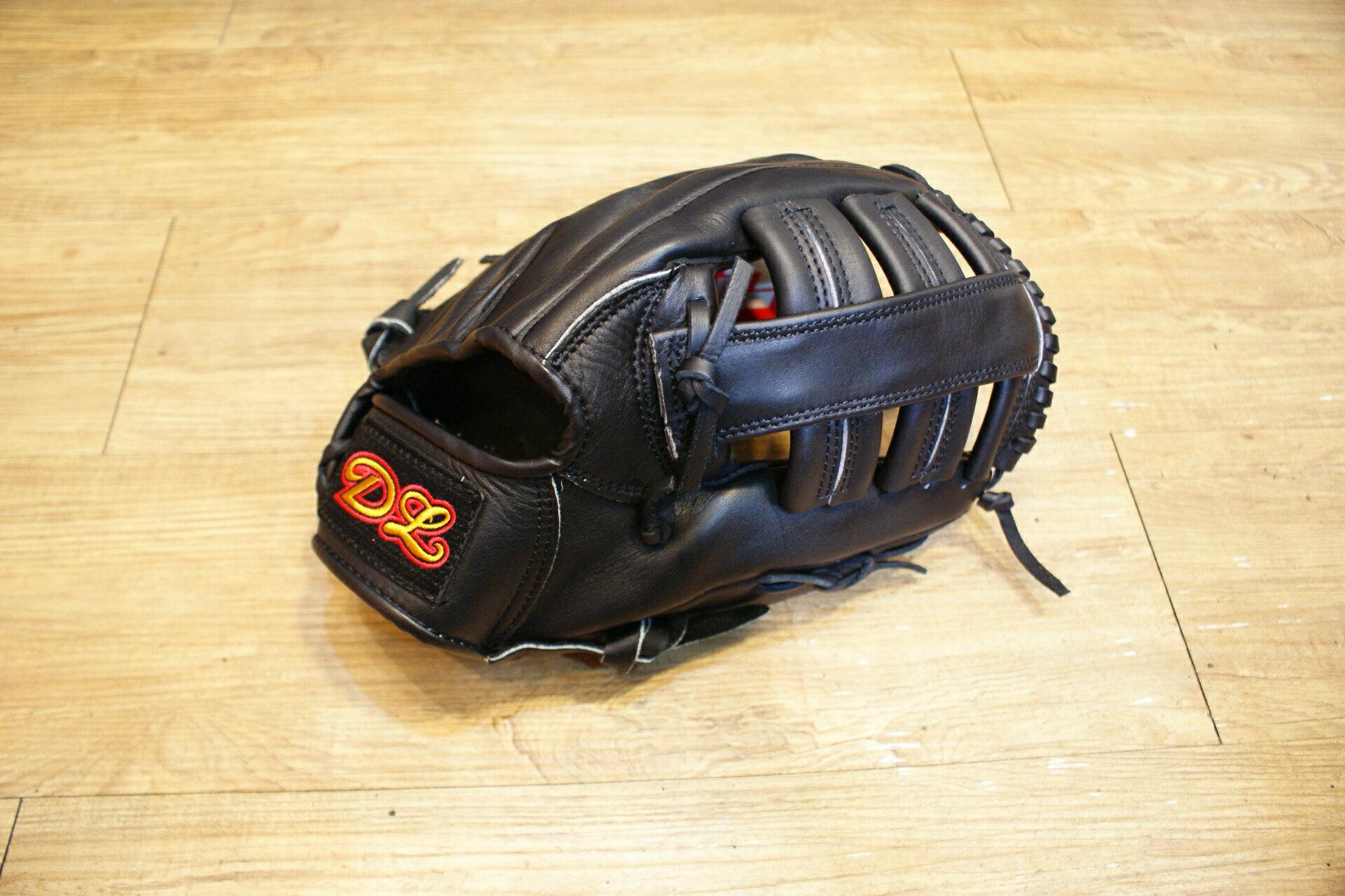 〈棒球世界〉全新DL166 棒壘球手套 最平價的真皮手套 外野款式 送手套袋