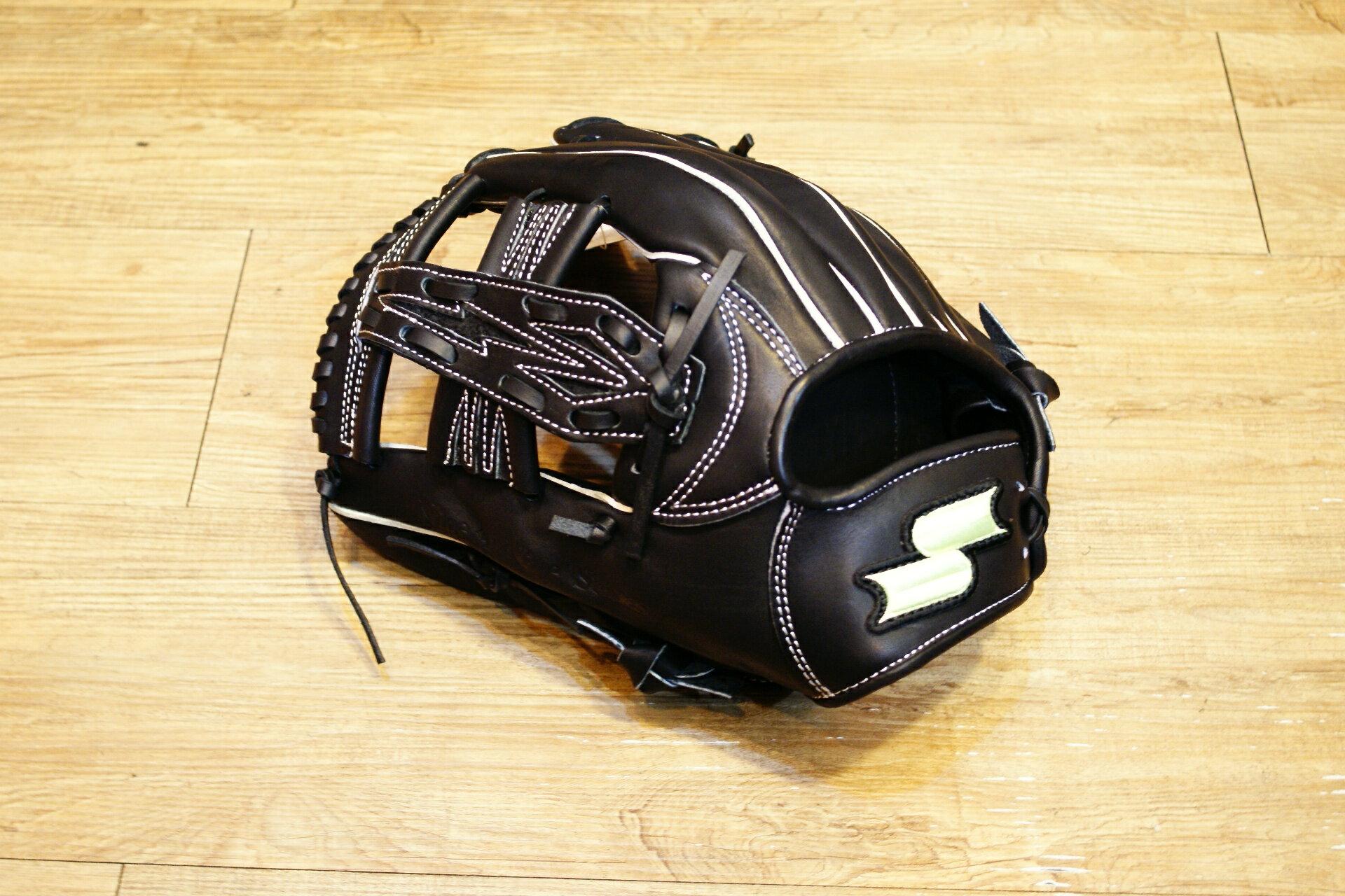 棒球世界 SSK硬式棒壘通用手套特價 TRG 41內野十字 黑色反手 65折