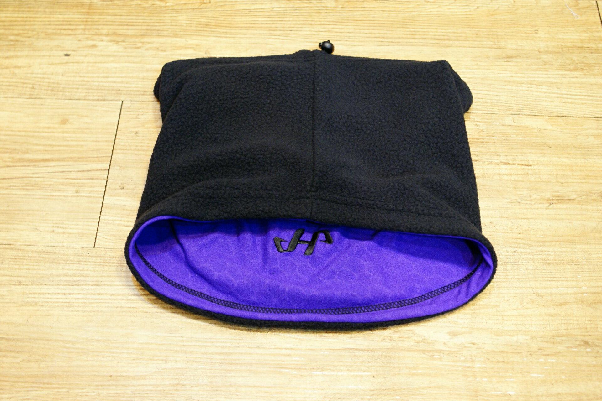 棒球世界 『HATAKEYAMA』 保暖護頸 特價 黑紫配色 暖暖上市