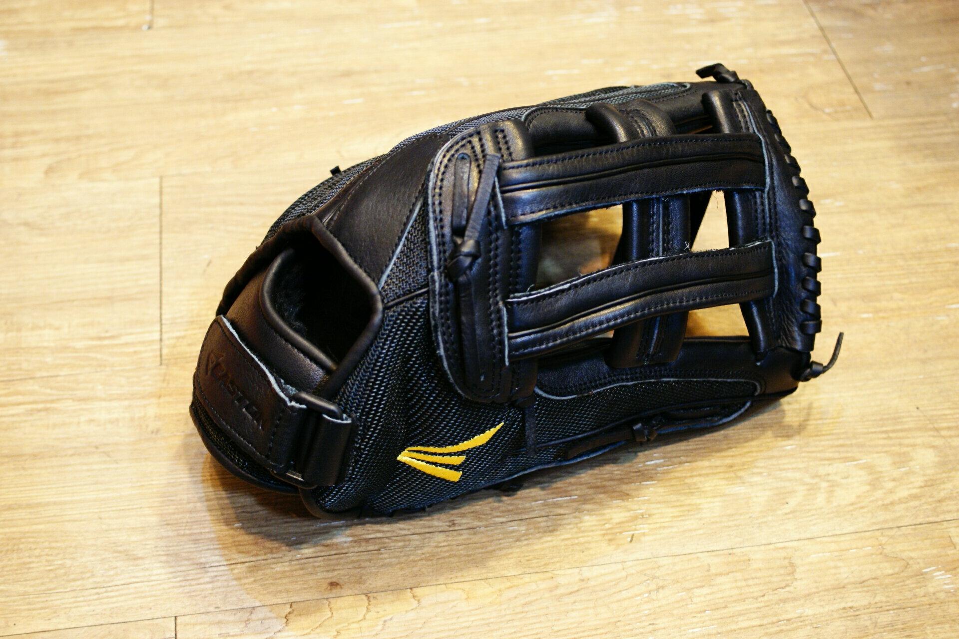 棒球世界 全新15年EASTON 美國進口超大牛皮外野手手套 特價 15吋