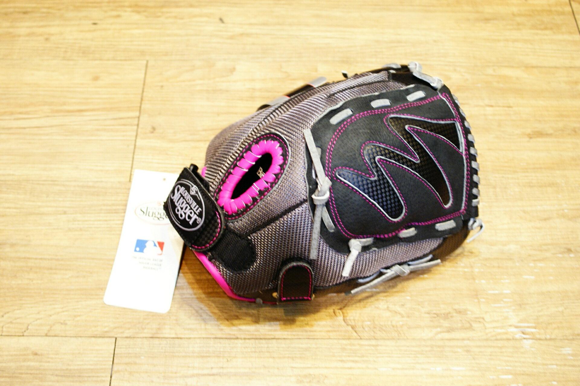 棒球世界 Louisville Slugger 路易斯威爾 DIVA之星系列11.5吋兒童手套(粉紅/灰)特價