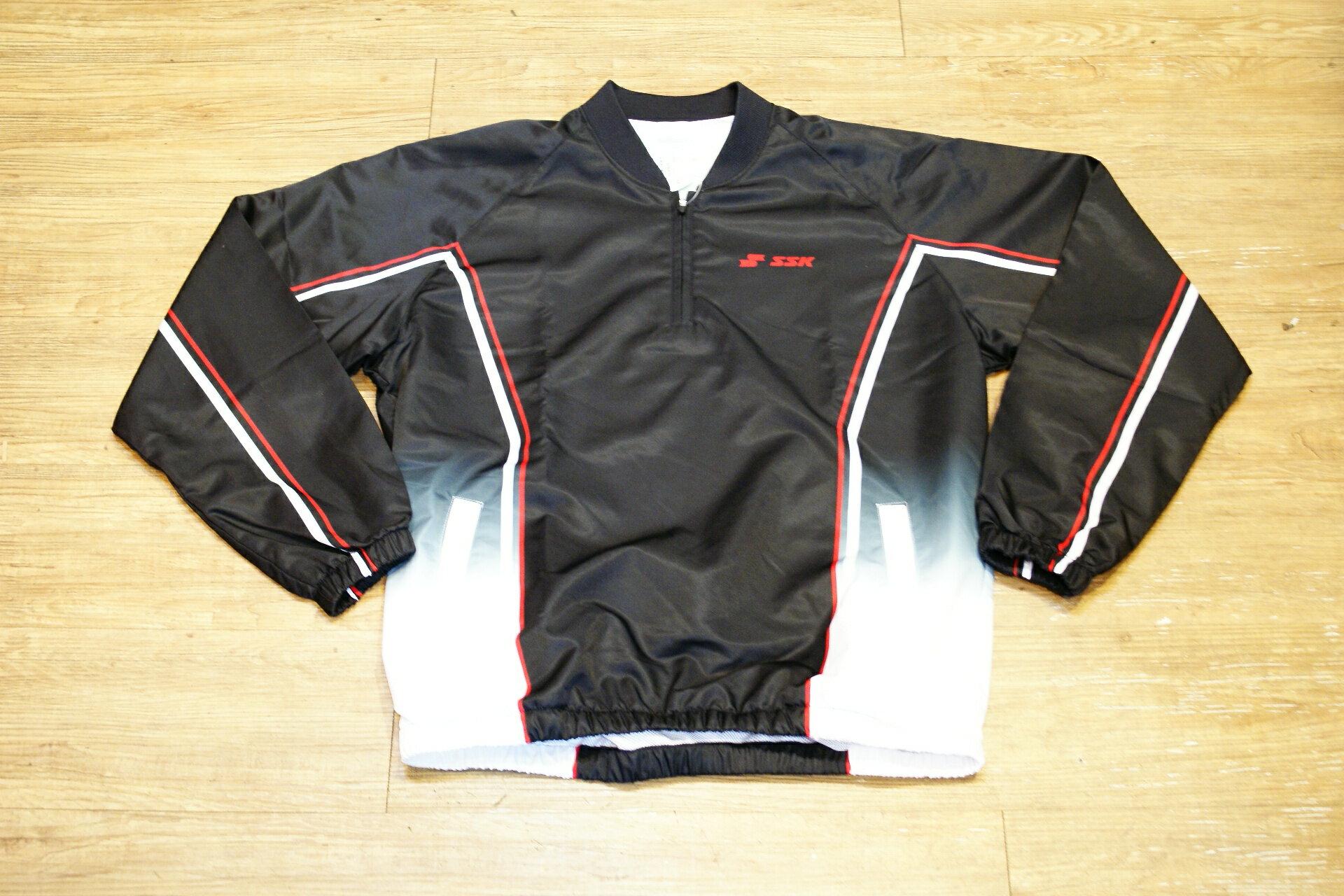 棒球世界 SSK 棒壘球熱昇華長袖風衣 熱昇華轉印技術 特價
