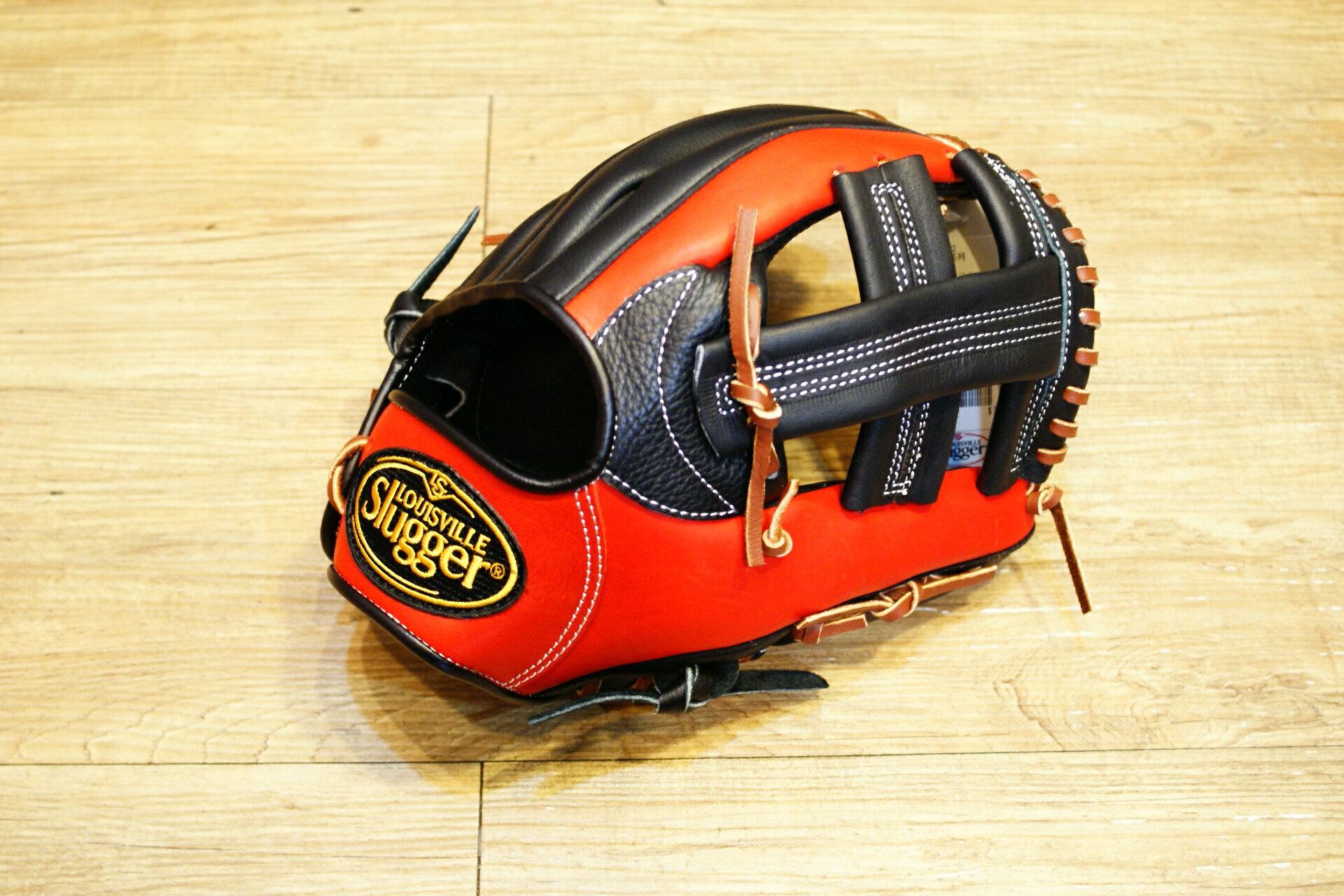 棒球世界 全新Louisvill Slugger 路易斯威爾TPX黑紅配色內野手手套 特價