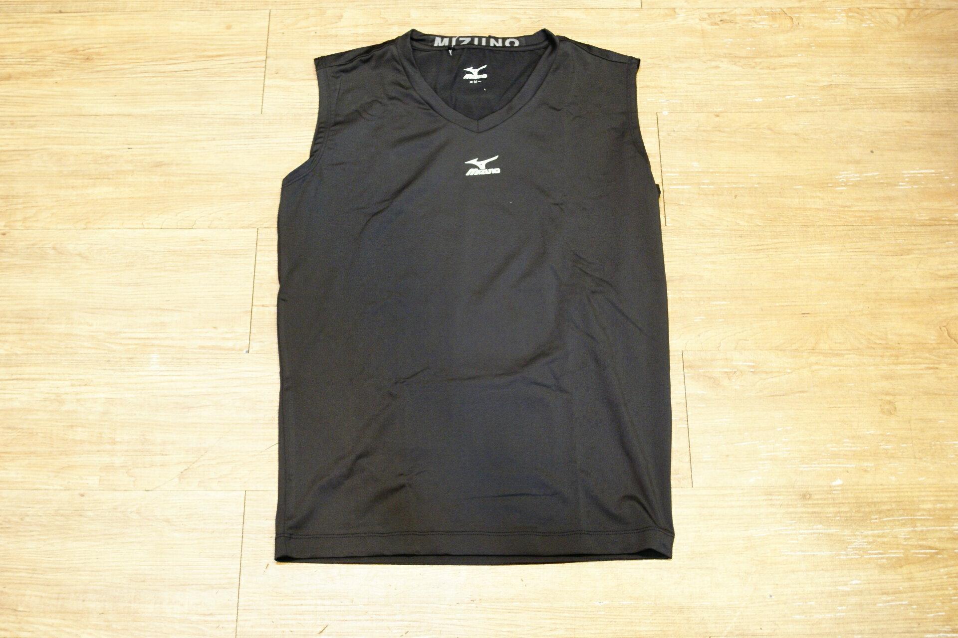 棒球世界 2015年 MIZUNO 美津濃削肩緊身衣 特價 三色