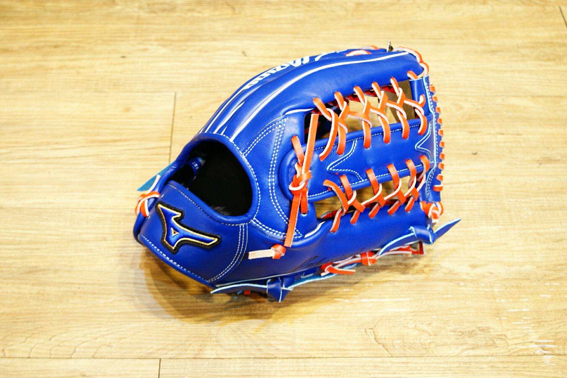 棒球世界 Mizuno 美津濃 2015年上半季 PROFESSIONAL 硬式手套特價 T網外野
