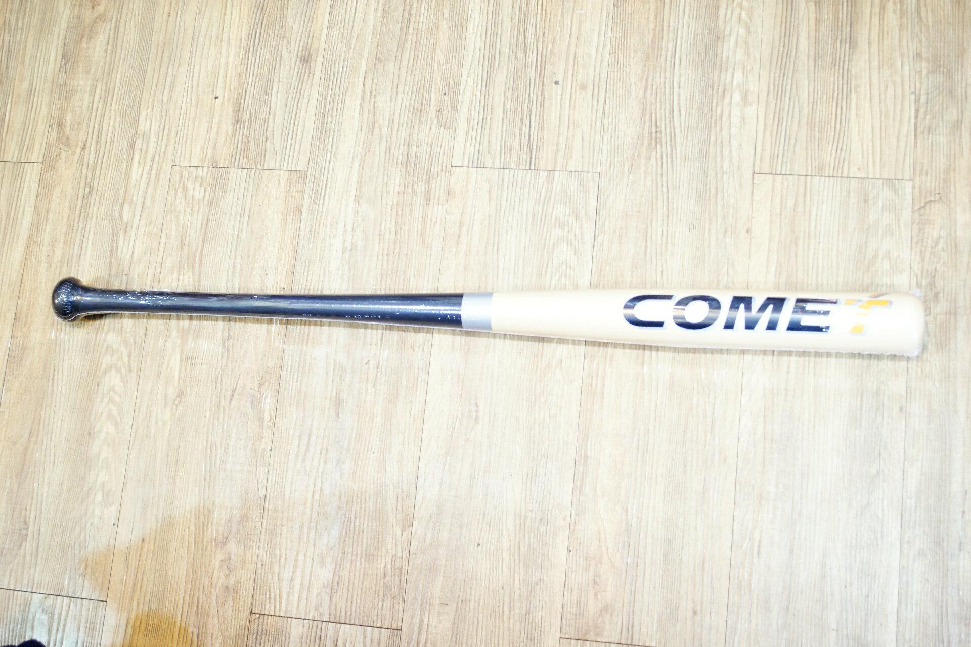 棒球世界 全新COMET order 北美硬楓木壘球棒 特價   原木黑配色