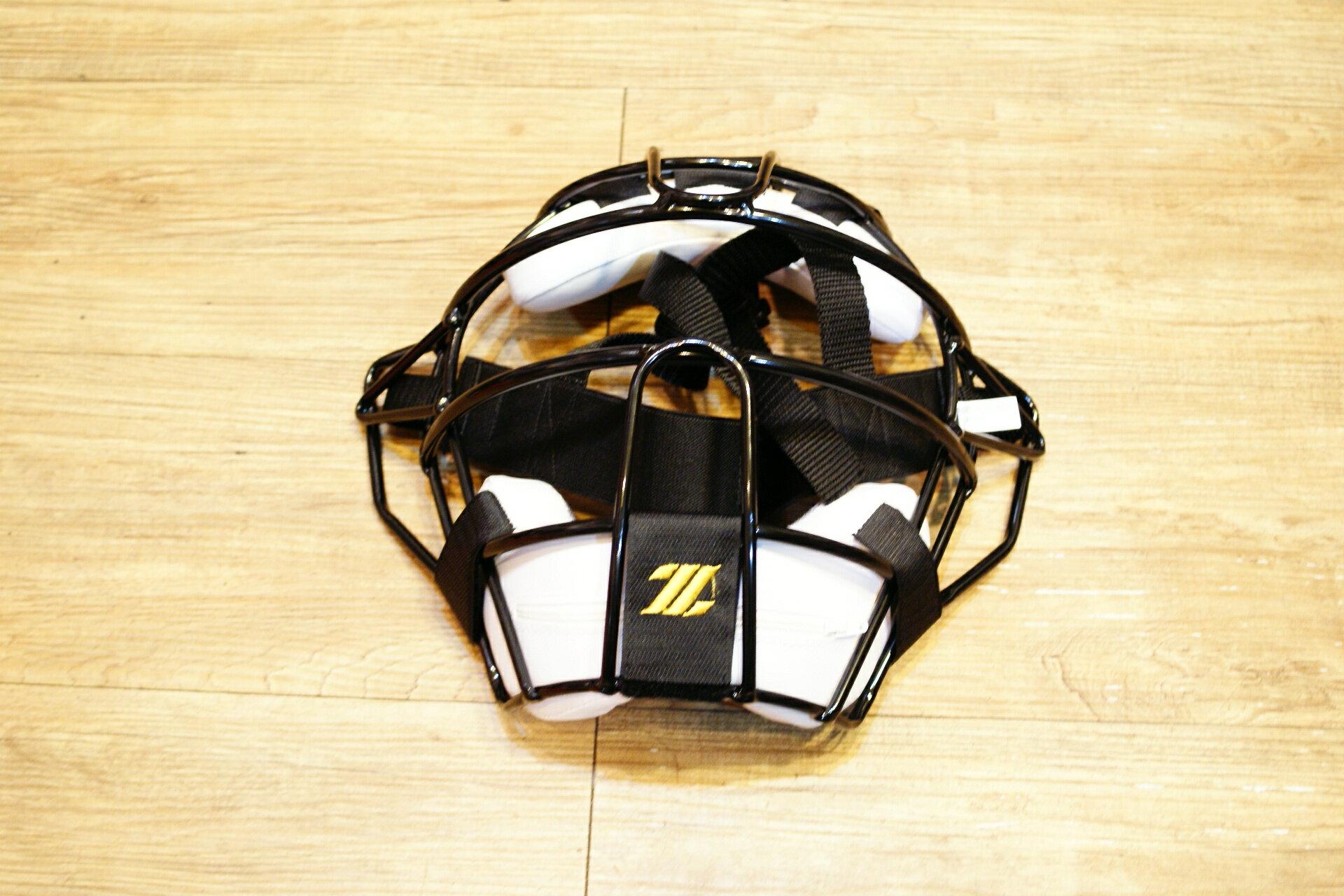 棒球世界 新款ZETT硬式捕手輕量化配色面罩 特價 不到65折