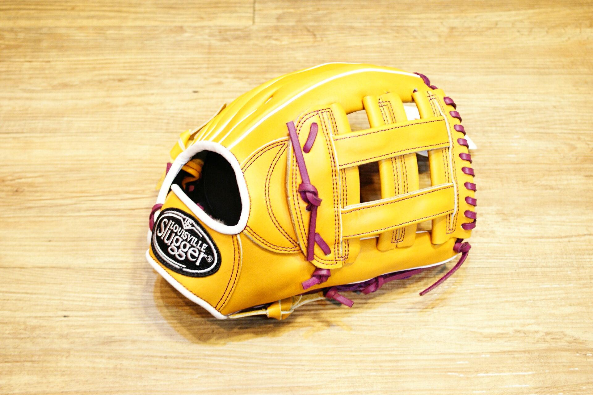 棒球世界 路易士Louisville Slugger (TPX) X Remix 牛皮棒球手套 特價 內野井字原皮色