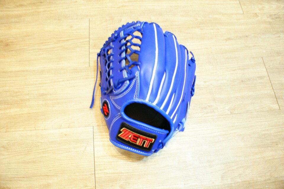 棒球世界 2012最新ZETT BPGT-85系列~外內野用牛皮棒壘手套 特價 反手用