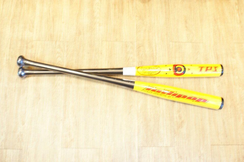 棒球世界 TPX 黃色棒棒糖慢壘比賽級楓木木棒 特價