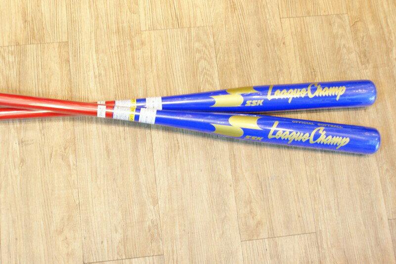 棒球世界2013年SSK楓木壘球棒 慢壘  中華藍紅配色