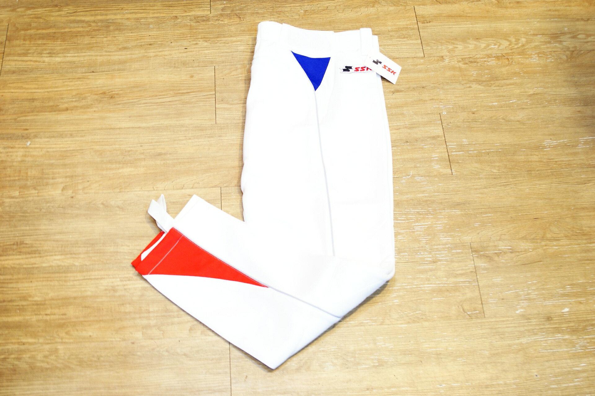 棒球世界 全新SSK棒壘球褲日本養樂多SWALLOWS 配色款 特價 紅藍款式