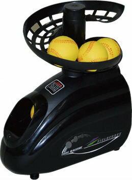 棒球世界全新日本進口 發泡式小朋友專用發球機(拋球機)含回收檔網特價