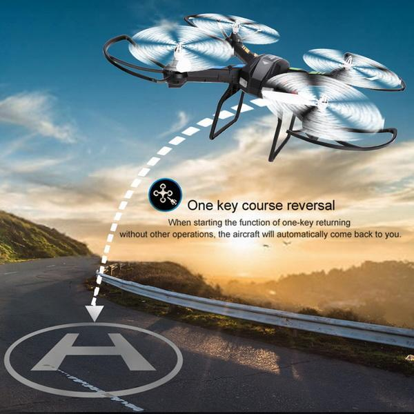 2.4GHz 4 Channels 6 Axis Gyro Eversion CF mode One Key Automatic Return with Light RC Quadcopter 4