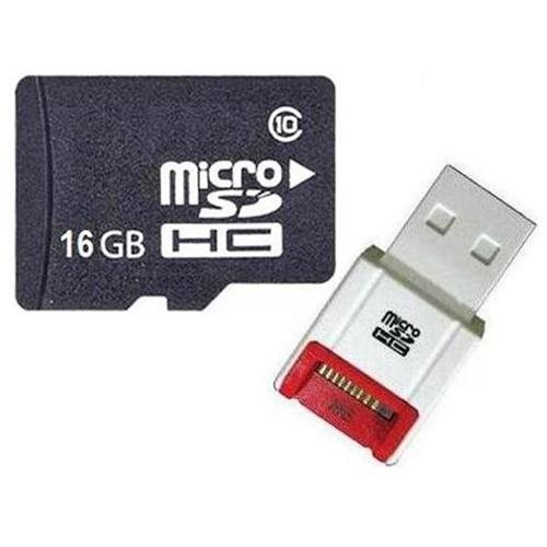 OEM 16GB 16G microSD microSDHC Class 10 micro SD SDHC C10 TF Flash Memory Card + SD Adapter and USB 2.0 Card Reader 0