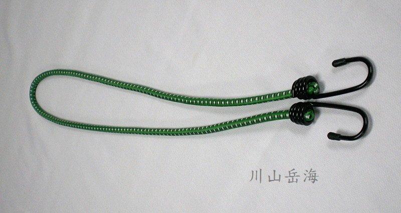 [ JIA LORNG 嘉隆 ] 45cm 強力彈性拉繩 綠 / 鬆緊繩 / 機車帶 / TP-316