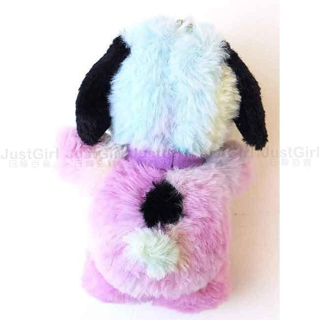 娃娃吊飾 Snoopy 史努比 彩色 毛毛 可愛 娃娃 日本進口正版授權