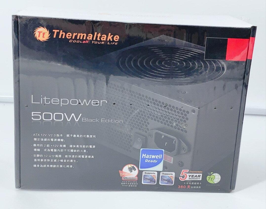 曜越 Thermaltake LT-500 500W  電源供應器 靜音風扇 0