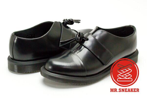 ☆Mr.Sneaker☆ Dr.Martens Eliza 亮皮 流蘇 牛津鞋 Black 黑色 女款