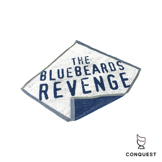 【 CONQUEST 】英國 藍鬍子 The Bluebeards Revenge Flannel 純棉毛巾 運動毛巾