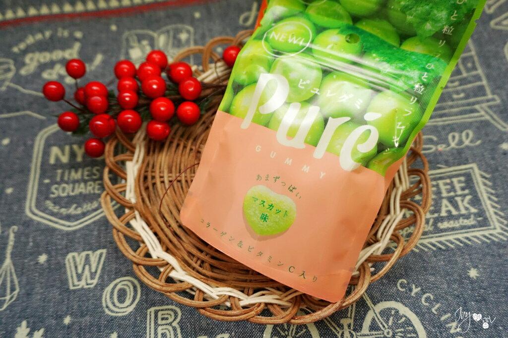 甘樂 Kanro 日本 Pure鮮果實白葡萄軟糖45.5g