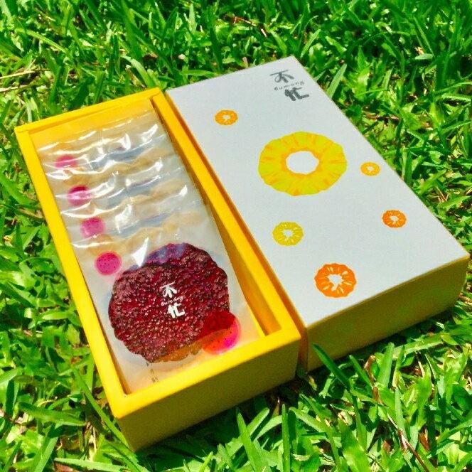 水果原片果乾禮盒-紅龍果+芭蕉-低溫乾燥天然無糖無添加果乾-8包入