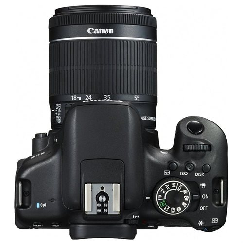 "Canon EOS Rebel T6i 24.2 Megapixel Digital SLR Camera with Lens - 18 mm - 55 mm - 3"" Touchscreen LCD - 16:9 - 3.1x Optical Zoom - E-TTL II - 6000 x 4000 Image - 1920 x 1080 Video - HDMI - HD Movie Mode - Wireless LAN 1"