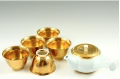 日本有田 有田燒 急須 金彩 組 400年歷史 日本直送 金彩光輝 值得您擁有 3